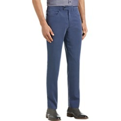 JOE Joseph Abboud Postman Blue Slim Fit Casual Pants found on MODAPINS from menswearhouse.com for USD $39.99