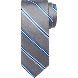 Awearness Kenneth Cole Gray and Blue Multi-Stripe Tie found on MODAPINS from menswearhouse.com for USD $24.99