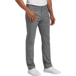 Joseph Abboud Gray Slim Fit Casual Pants found on MODAPINS from menswearhouse.com for USD $49.99