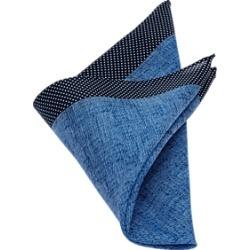 Egara Blue Pocket Square
