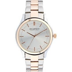 Awearness Kenneth Cole Silver & Rose Gold Watch found on MODAPINS from menswearhouse.com for USD $49.99