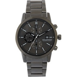 Awearness Kenneth Cole Black Metal Watch found on MODAPINS from menswearhouse.com for USD $165.00