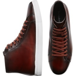 Belvedere Jay Brown Leather Hi-Top Sneakers found on MODAPINS from menswearhouse.com for USD $109.99