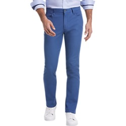 Joseph Abboud Blue Slim Fit Casual Pants found on MODAPINS from menswearhouse.com for USD $39.99