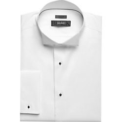 BLACK by Vera Wang Bib Front Formal Shirt White found on MODAPINS from menswearhouse.com for USD $104.50