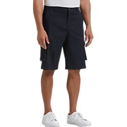 Joseph Abboud Navy Modern Fit Cargo Shorts found on MODAPINS from menswearhouse.com for USD $34.99