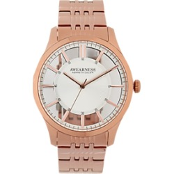 Awearness Kenneth Cole Rose Gold-Tone Watch found on MODAPINS from menswearhouse.com for USD $135.00