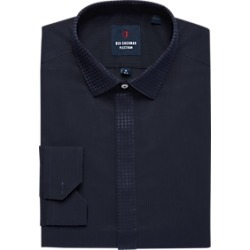 Ben Sherman Plectrum Navy Slim Fit French Cuff Formal Shirt found on MODAPINS from menswearhouse.com for USD $29.99