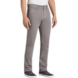 Joseph Abboud Gray Slim Fit Casual Pants found on MODAPINS from menswearhouse.com for USD $39.99