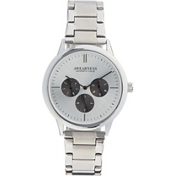 Awearness Kenneth Cole Silver & Black Watch found on MODAPINS from menswearhouse.com for USD $59.99