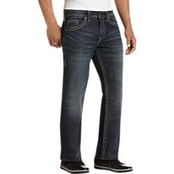 Silver Jeans Co. Zac Dark Wash Relaxed Fit Jeans found on MODAPINS from menswearhouse.com for USD $49.99