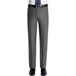 Pronto Uomo Gray Slim Fit Casual Pants found on MODAPINS from menswearhouse.com for USD $39.99