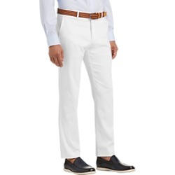 Tommy Hilfiger White Modern Fit Casual Pants found on MODAPINS from menswearhouse.com for USD $39.99