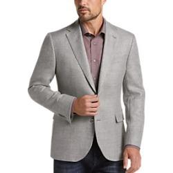 Joseph Abboud Gray Tic Casual Coat