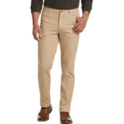 Joseph Abboud Tan Slim Fit Casual Pants found on MODAPINS from menswearhouse.com for USD $39.99