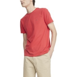 Tommy Hilfiger Red Stretch Crew Neck Tee found on MODAPINS from menswearhouse.com for USD $19.99