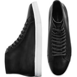 Belvedere Jay Black Leather Hi-Top Sneakers found on MODAPINS from menswearhouse.com for USD $79.99