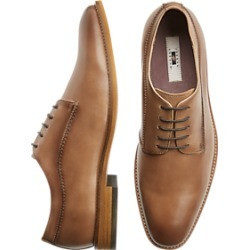 c754ffeba90 Joseph Abboud Joshua Taupe Plain Toe Lace Up Shoes
