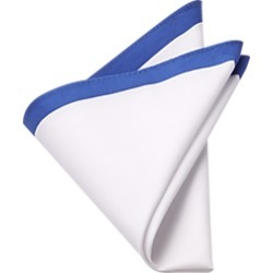 Royal & White Pocket Square