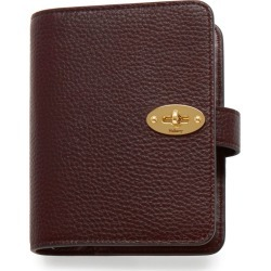 Mulberry Postman's Lock Pocket Book - Oxblood found on Bargain Bro UK from Mulberry