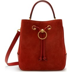 Mulberry Hampstead in Rust Suede and Silky Calf