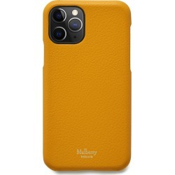 Mulberry iPhone 11 Pro Cover - Deep Amber