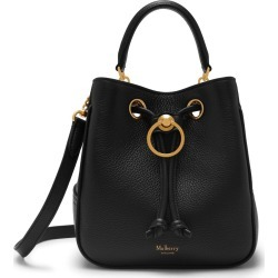 Mulberry Small Hampstead in Black Small Classic Grain