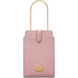 Mulberry Women's Mulberry Plaque Phone Pouch - Powder Pink found on Bargain Bro UK from Mulberry