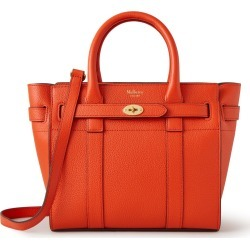 Mulberry Women's Mini Zipped Bayswater - Coral Orange found on Bargain Bro UK from Mulberry