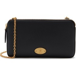 Mulberry Women's Mulberry Plaque Wallet on Chain - Black found on MODAPINS from Mulberry for USD $669.80