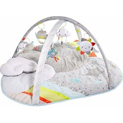 Skip Hop Silver Lining Cloud Baby Play Mat and Activity Gym, Multi found on Bargain Bro from  for $67.99