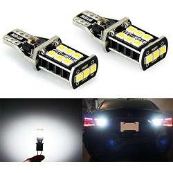 JDM ASTAR 800 lumens Extremely Bright Error Free 921 912 PX Chipsets LED Bulbs For Backup Reverse Lights, Xenon White found on Bargain Bro from  for $