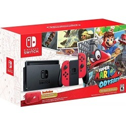 Nintendo Switch - Super Mario Odyssey Edition found on GamingScroll.com from Amazon US for $379.99