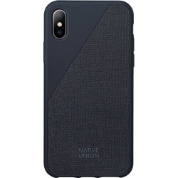 Native Union CLIC Canvas Case - Drop-Proof Protective Cover Made with Premium Woven Fabric for iPhone X (Marine) found on Bargain Bro from  for $34.99