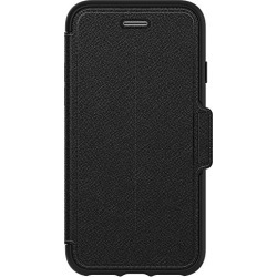 OtterBox STRADA SERIES Case for iPhone 8 & iPhone 7 (NOT Plus) - Frustration Free Packaging - ONYX (BLACK/BLACK LEATHER) found on Bargain Bro from  for $