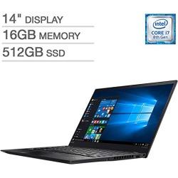 Lenovo X1 Carbon 6th Generation Ultrabook: Core i7-8550U, 16GB RAM, 512GB SSD, 14Inch Full HD Display, Backlit Keyboard found on Bargain Bro from  for $1449