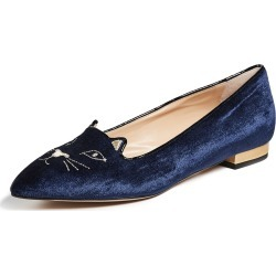 Charlotte Olympia Mid Century Kitty Flats found on MODAPINS from shopbop for USD $595.00