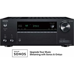 Onkyo TX-NR585 7.2 Channel Network A/V Receiver Black found on Bargain Bro from  for $263.09