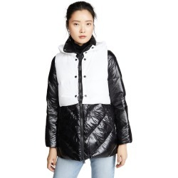 Add Down Down Jacket With Detachable Hooded Vest