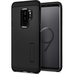 Spigen Tough Armor Galaxy S9 Plus Case with Reinforced Kickstand and Heavy Duty Protection and Air Cushion Technology for Samsung Galaxy S9 Plus (2018) - Black found on Bargain Bro from  for $39.99