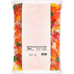 Albanese Candy Sugar Free Assorted Fruit Gummi Bears 5 Pound Bag, Sugar-Free Gummi Candy Assorted Flavor: Cherry, Strawberry, Green Apple, Pineapple, Lemon, Orange; Gluten Free Dairy Free Fat Free found on Bargain Bro from  for $26.54