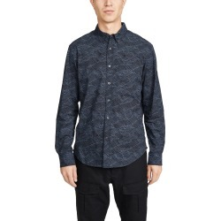 Club Monaco Slim Layered Wave Button Down Shirt found on Bargain Bro India from Eastdane AU/APAC for $89.50