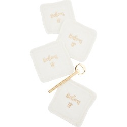 Gift Boutique Bottoms Up Coaster & Bottle Opener Gift Set