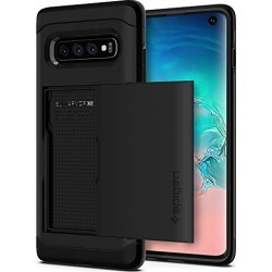 Spigen Slim Armor CS Designed for Samsung Galaxy S10 Case (2019) - Black found on Bargain Bro from  for $19.99