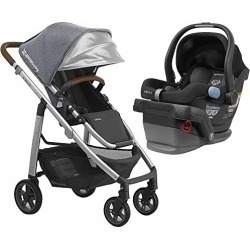 UPPAbaby Full-Size Cruz Infant Baby Stroller & MESA Car Seat Bundle, Gregory/Jake found on Bargain Bro from  for $849.98
