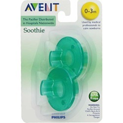 Philips Avent SCF190/01 Soothie 0-3mth Green/Green, 2 count found on Bargain Bro from  for $3.78
