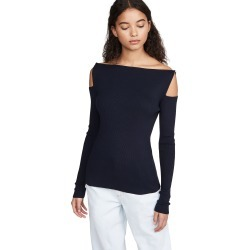 Adeam Shoulder Cut Out Imitation Pearl Knit Top found on MODAPINS from shopbop for USD $695.00