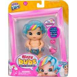 LITTLE LIVE BABIES Little Live Bizzy Bubs Clap Baby Harper Childrens Toy found on Bargain Bro from  for $5.99