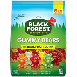 Black Forest Gummy Bears Candy, 6-Pound found on Bargain Bro from  for $9.28