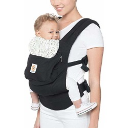 Ergobaby Carrier, Original 3-Position Baby Carrier with Lumbar Support and Storage Pocket, Downtown found on Bargain Bro from  for $93.95